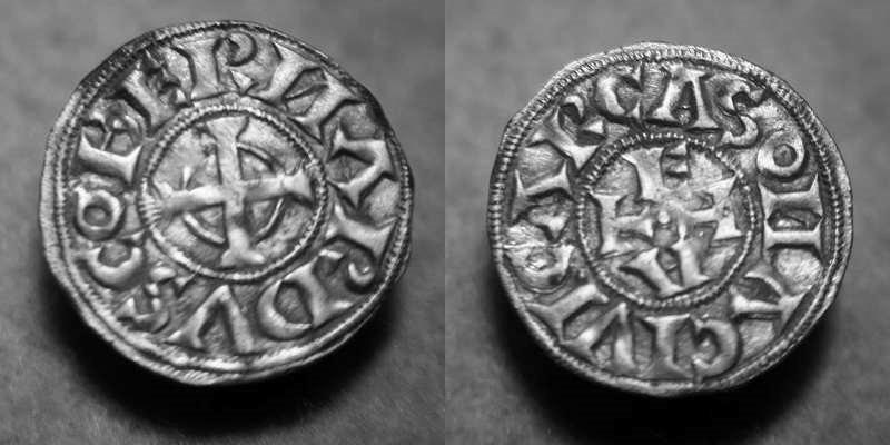 DENIER DE  CARCASSONNE - BERNARD ATON IV TRENCAVEL (1066 à 1129) Img_3311