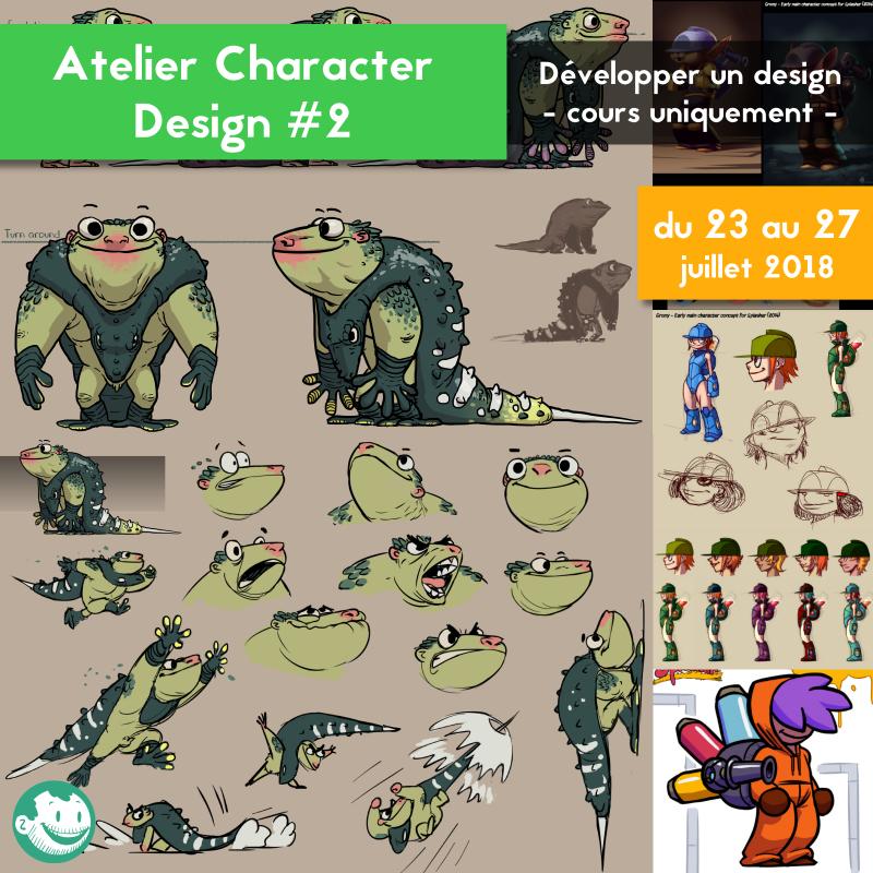 Ateliers de Character Design et promotion Imaget11