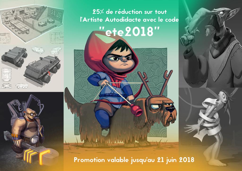 Ateliers de Character Design et promotion Promo210