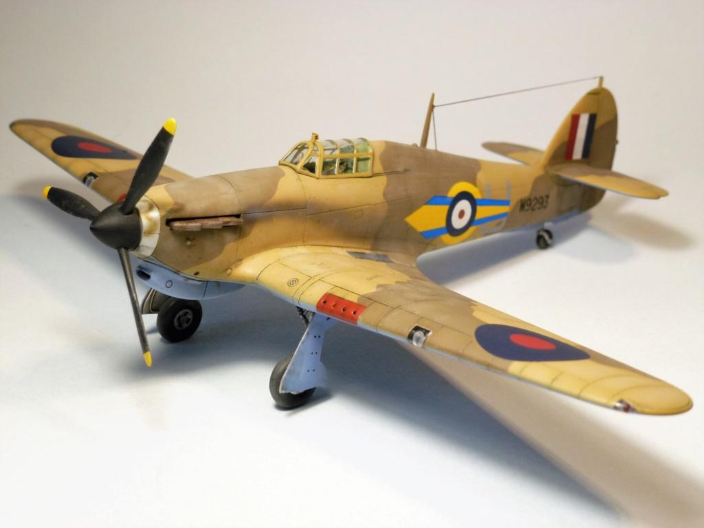 (Arma Hobby) Hurricane Mk I trop - RAF Sq 73 - 1/72 P1070710