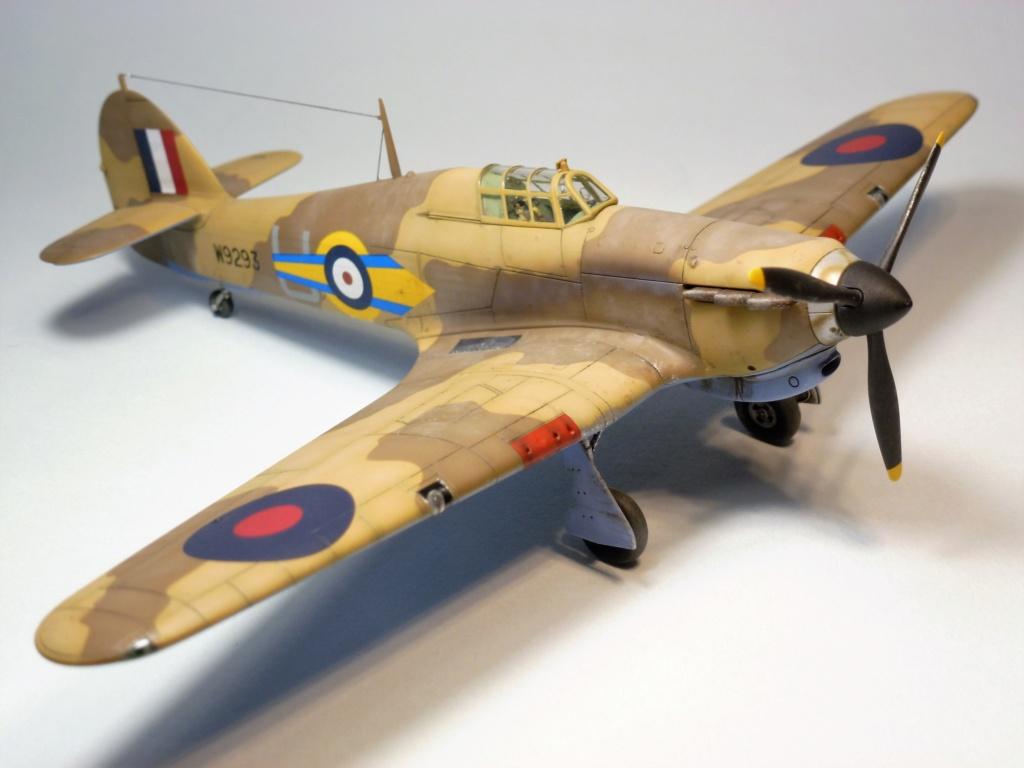 (Arma Hobby) Hurricane Mk I trop - RAF Sq 73 - 1/72 P1070712