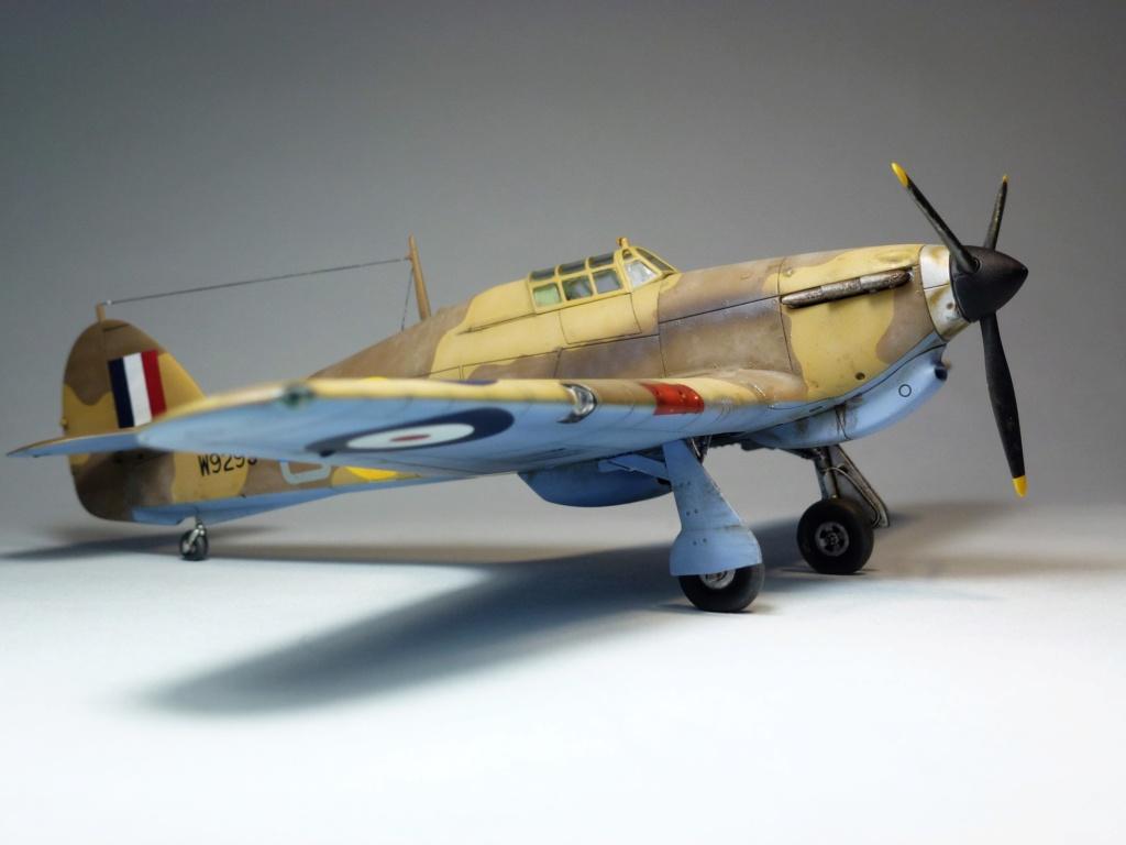 (Arma Hobby) Hurricane Mk I trop - RAF Sq 73 - 1/72 P1070713