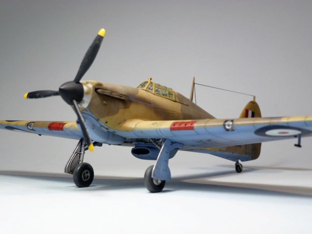 (Arma Hobby) Hurricane Mk I trop - RAF Sq 73 - 1/72 P1070716