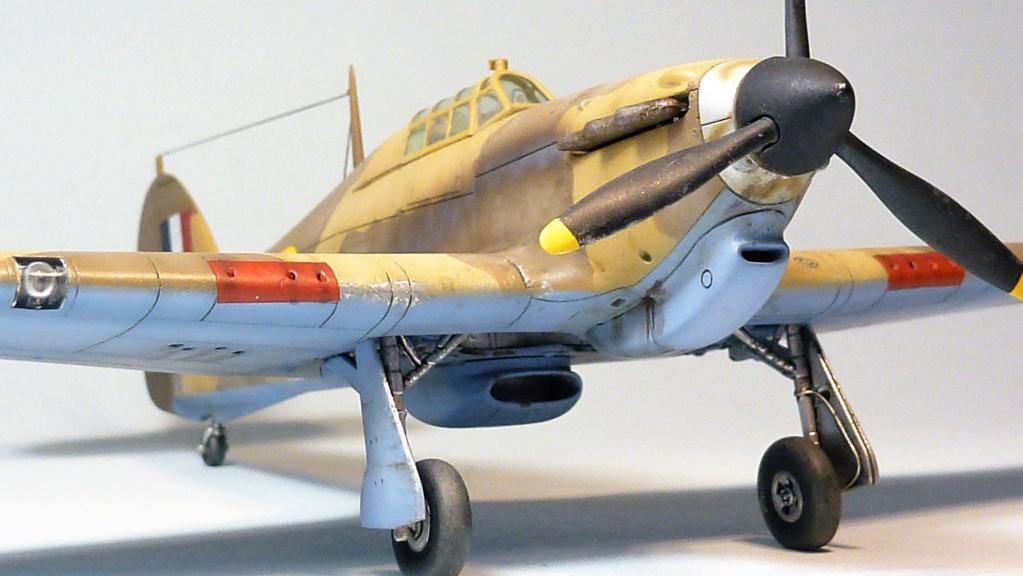 (Arma Hobby) Hurricane Mk I trop - RAF Sq 73 - 1/72 P1070727