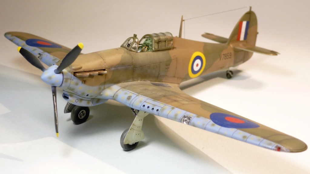 Hurricane MkI V7859 - Sq73 - ARMA HOBBY - 1/72 - james DENIS P1070917