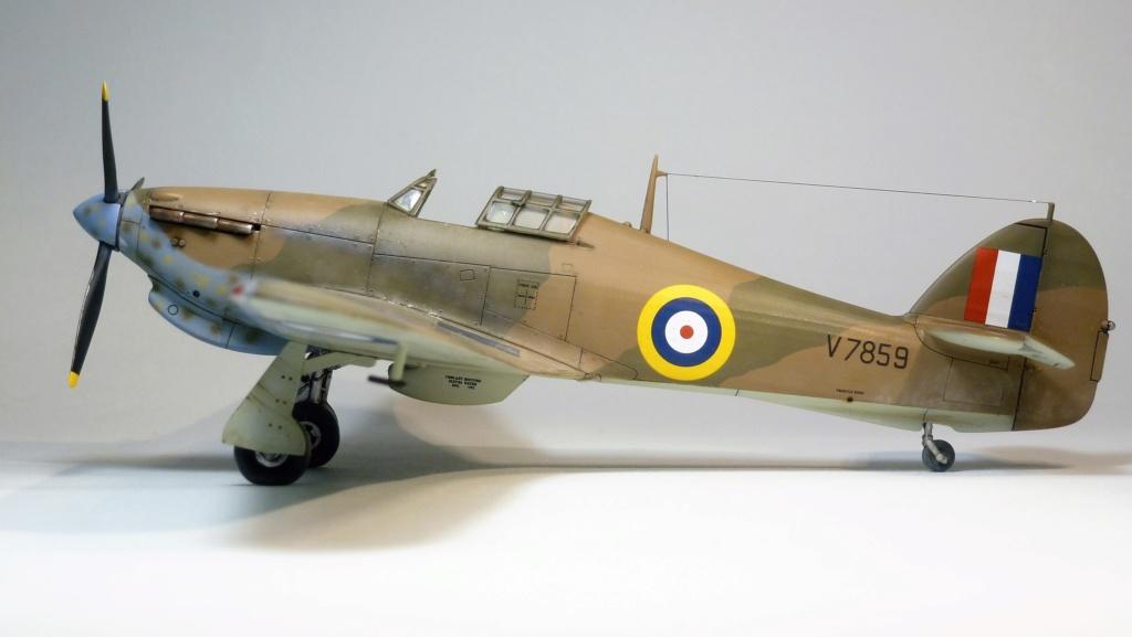 Hurricane MkI V7859 - Sq73 - ARMA HOBBY - 1/72 - james DENIS P1070918