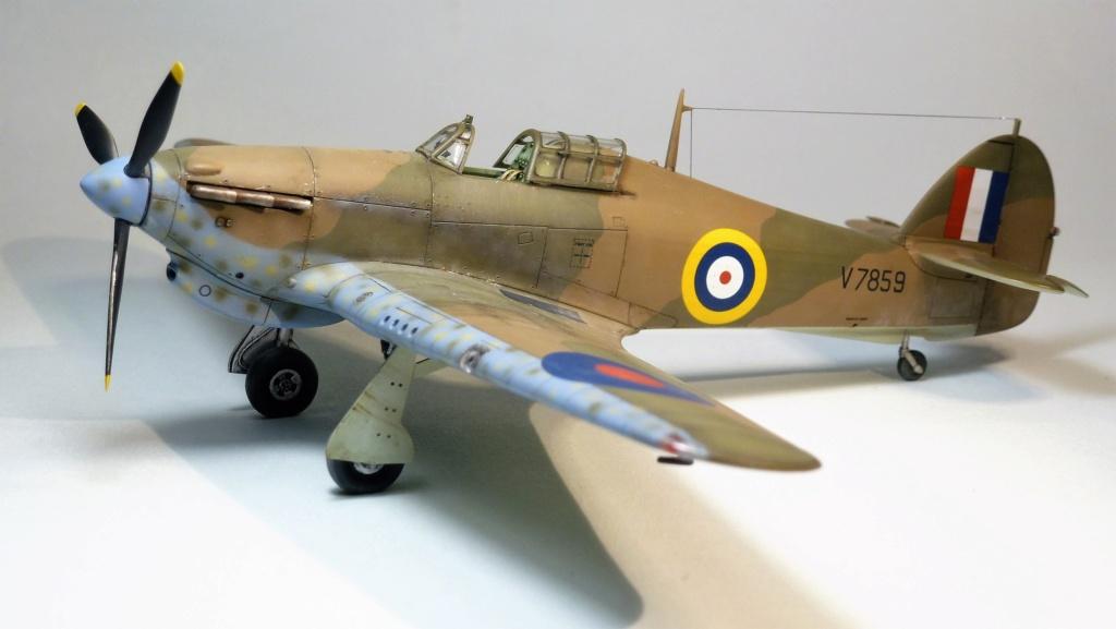 Hurricane MkI V7859 - Sq73 - ARMA HOBBY - 1/72 - james DENIS P1070919