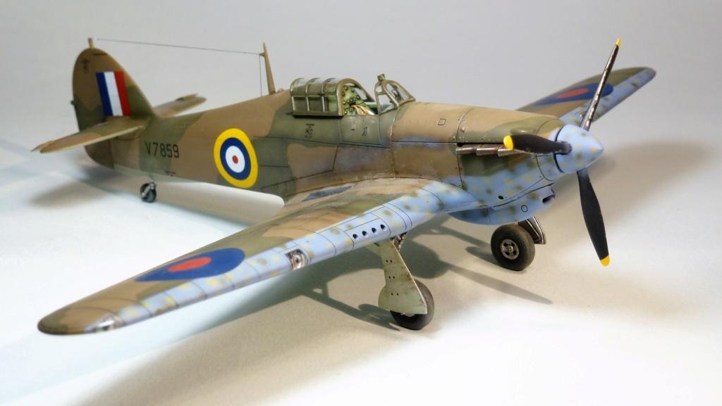 Hurricane MkI V7859 - Sq73 - ARMA HOBBY - 1/72 - james DENIS P1070920