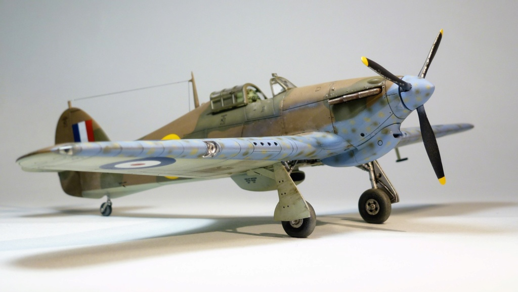 Hurricane MkI V7859 - Sq73 - ARMA HOBBY - 1/72 - james DENIS P1070921