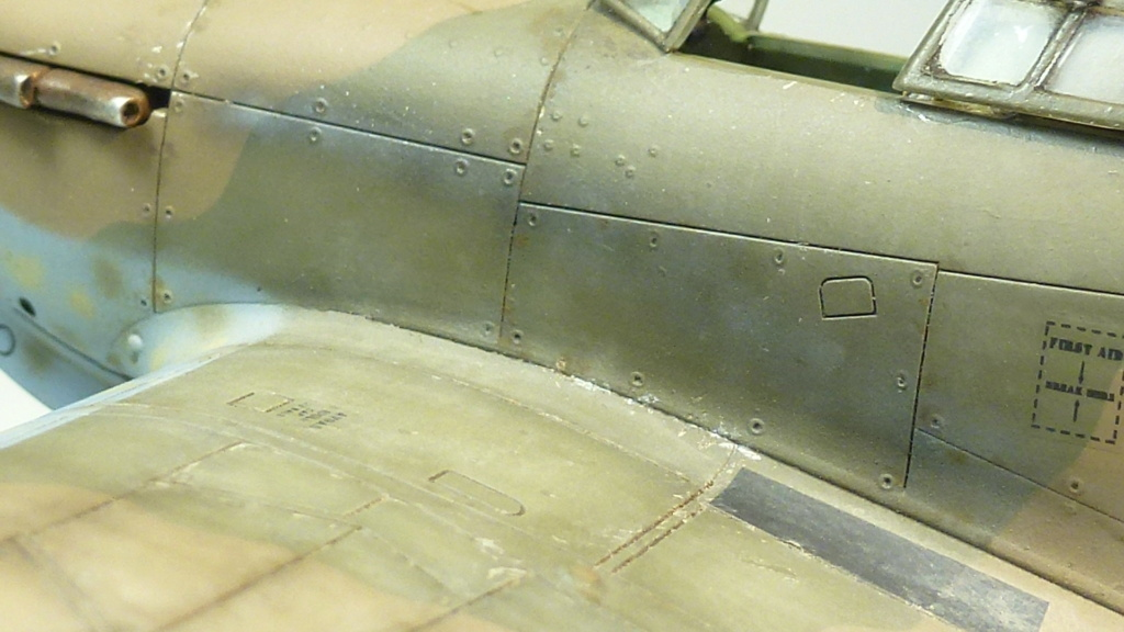 Hurricane MkI V7859 - Sq73 - ARMA HOBBY - 1/72 - james DENIS P1070932
