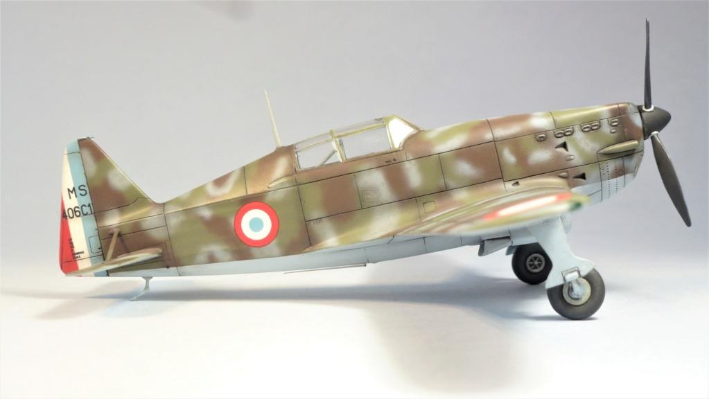Morane Saulnier MS410 non identifé - Villacoublay - Juin 1940 - Maquette AZUR 1/72 P1100426