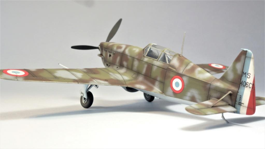 Morane Saulnier MS410 non identifé - Villacoublay - Juin 1940 - Maquette AZUR 1/72 P1100428