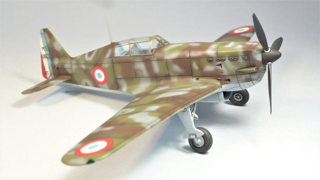 Morane Saulnier MS410 non identifé - Villacoublay - Juin 1940 - Maquette AZUR 1/72 P1100429