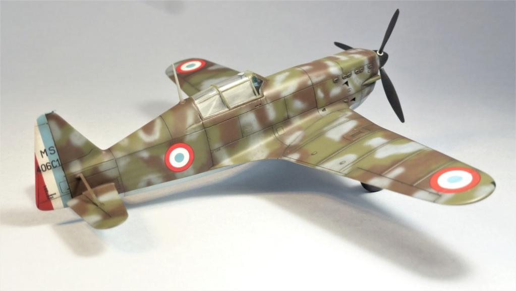 Morane Saulnier MS410 non identifé - Villacoublay - Juin 1940 - Maquette AZUR 1/72 P1100430