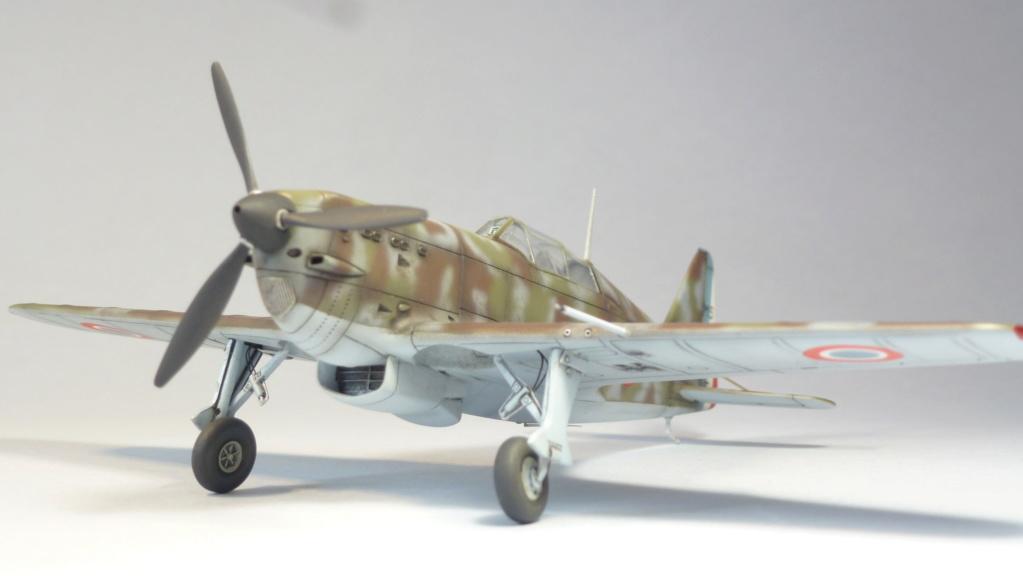 Morane Saulnier MS410 non identifé - Villacoublay - Juin 1940 - Maquette AZUR 1/72 P1100433
