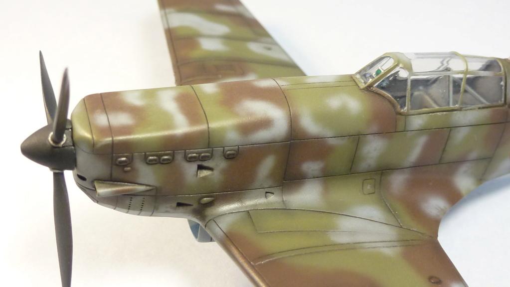 Morane Saulnier MS410 non identifé - Villacoublay - Juin 1940 - Maquette AZUR 1/72 P1100442