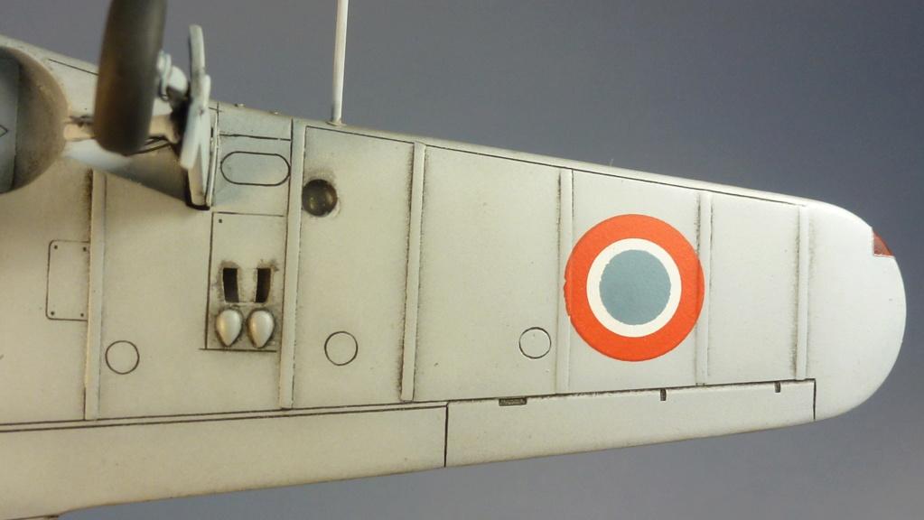 Morane Saulnier MS410 non identifé - Villacoublay - Juin 1940 - Maquette AZUR 1/72 P1100444