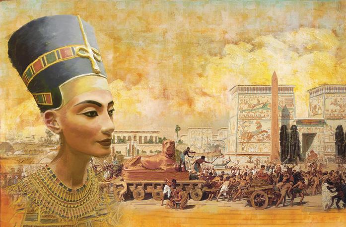 المدهش عند المصريين القدماء Art14910