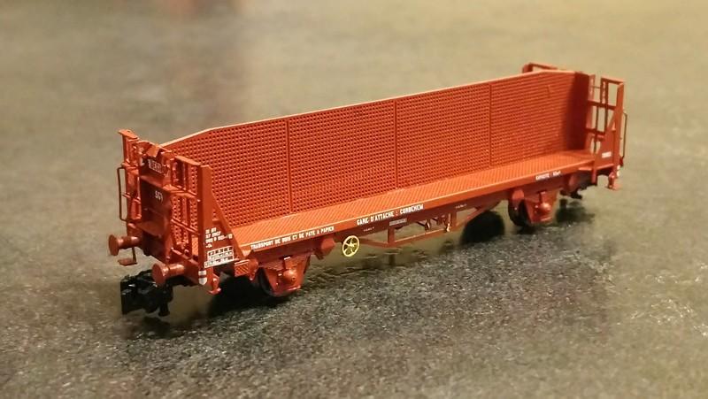 """[TJ-Modeles] TJ-7547 : Wagon porte bûches CIMT """"Beghin"""" (kit) - Echelle N Tj-75410"""
