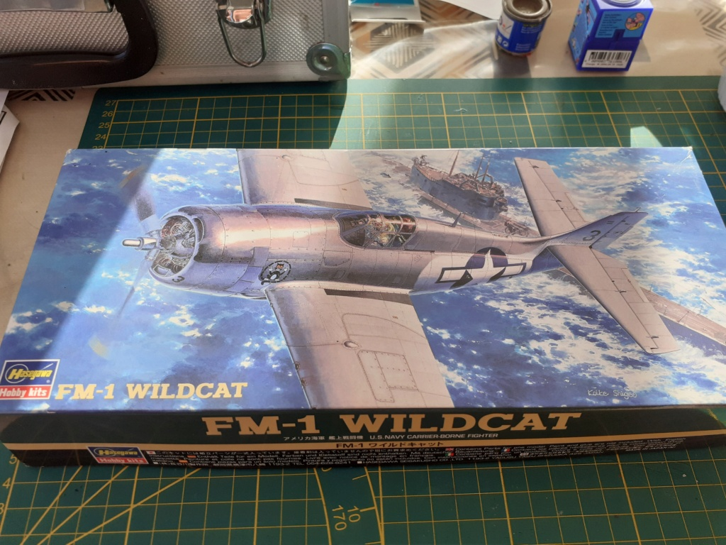 From the box - FM1 WILDCAT Hasegawa 1/72 *** Terminé en pg 1 20201120
