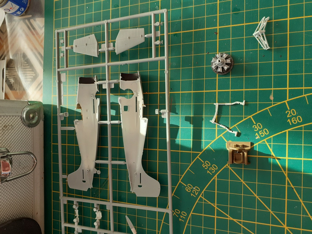 From the box - FM1 WILDCAT Hasegawa 1/72 *** Terminé en pg 1 20201121