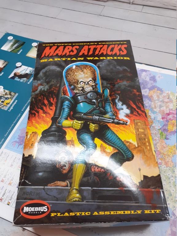 figurine mars attacks  1/8  Moebius 20210310