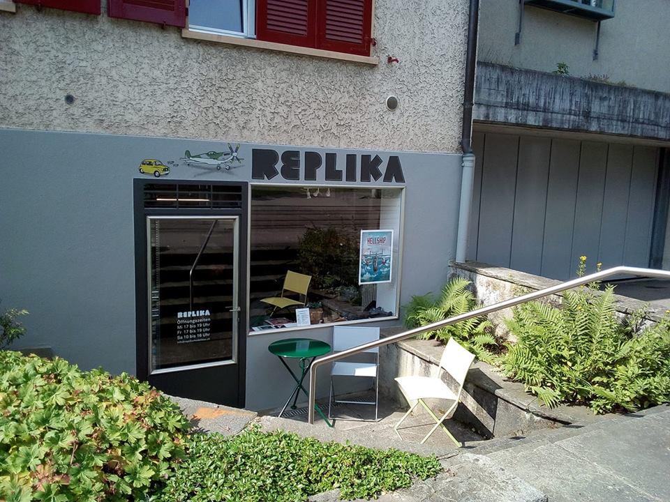 """Une nouvelle boutique à Bern  """" Replikamodellbau 36814410"""