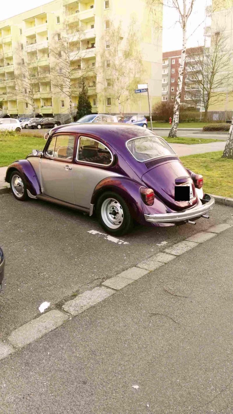 Einen Käfer auf dem Heimweg schnappgeschossen K110