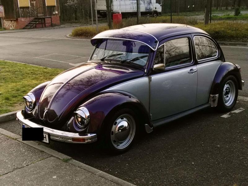 Einen Käfer auf dem Heimweg schnappgeschossen K410