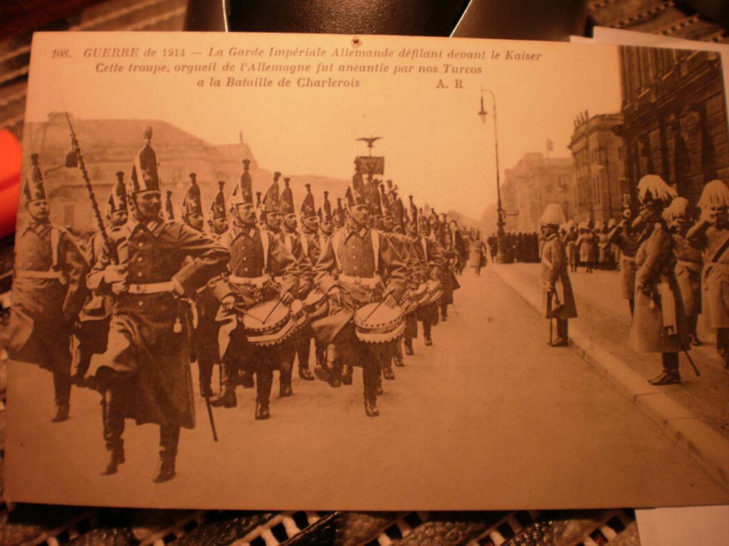casques du 1er régiment de la °GARDE à PIED° 005_211
