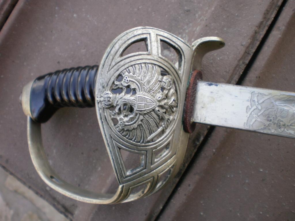 sabre d'infanterie de la Garde 02510
