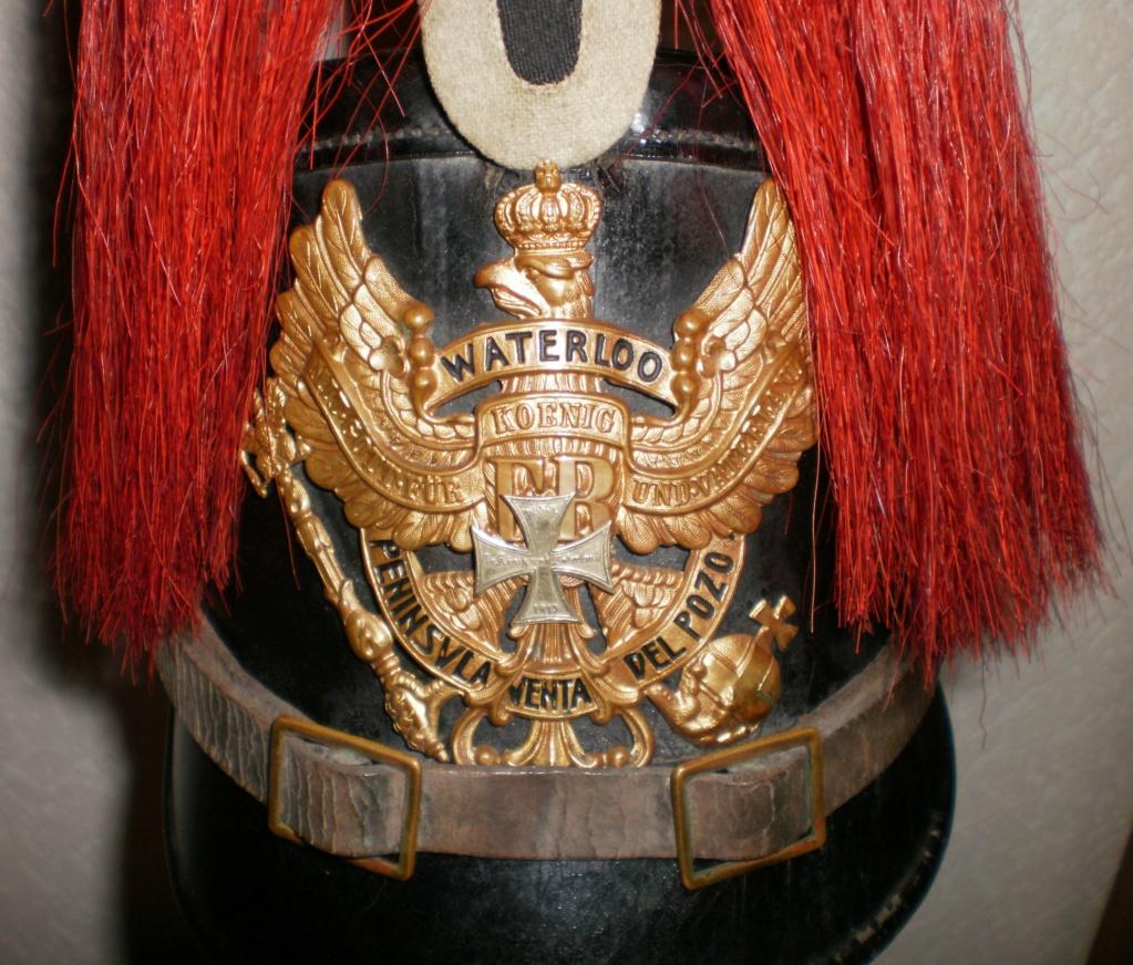 SHAKO  du 10 em bataillon de chasseurs à pied  ( Hanovre) 412