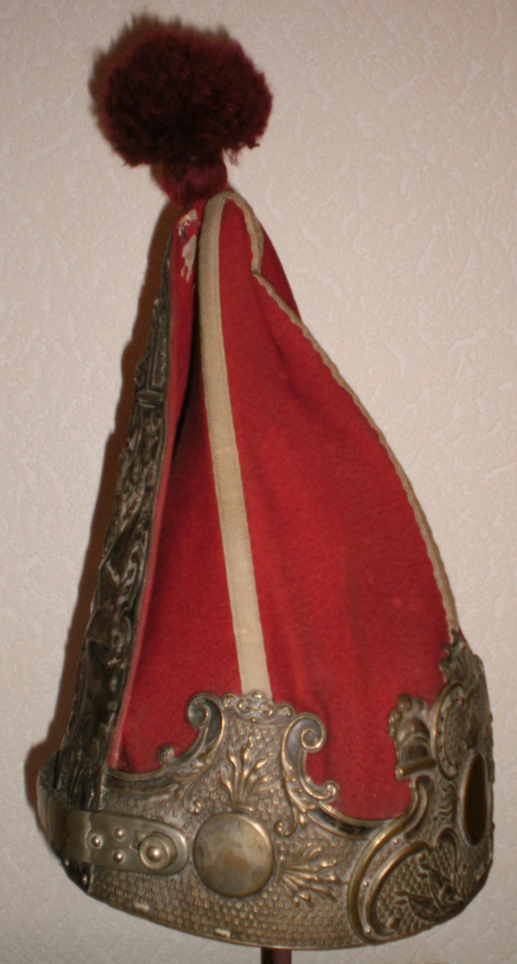 casques du 1er régiment de la °GARDE à PIED° 614