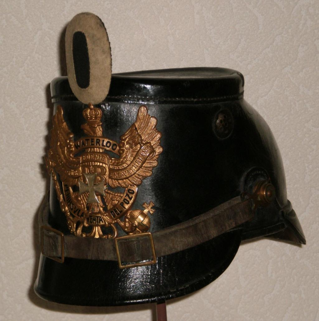 SHAKO  du 10 em bataillon de chasseurs à pied  ( Hanovre) 719