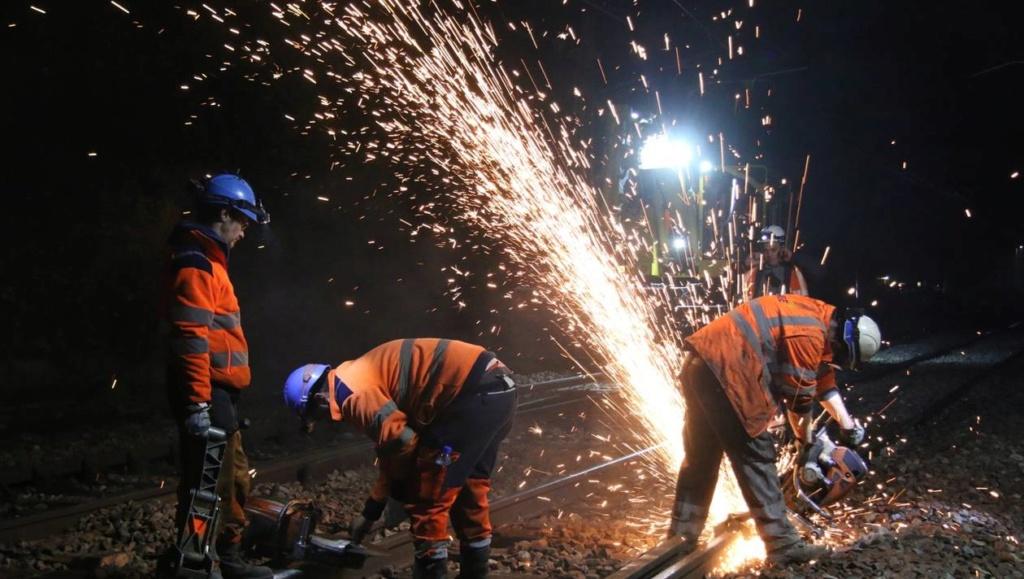 La Suze. Les longues nuits debout des hommes du rail 84607810