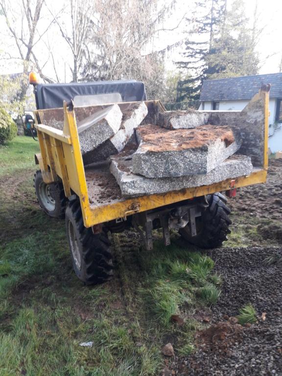 mon ancien 411 au bois et en chantier 20190410