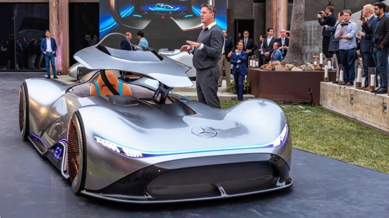 2018 - [Mercedes] EQ Silver Arrow Concept (Pebble Beach) - Page 2 01f14910
