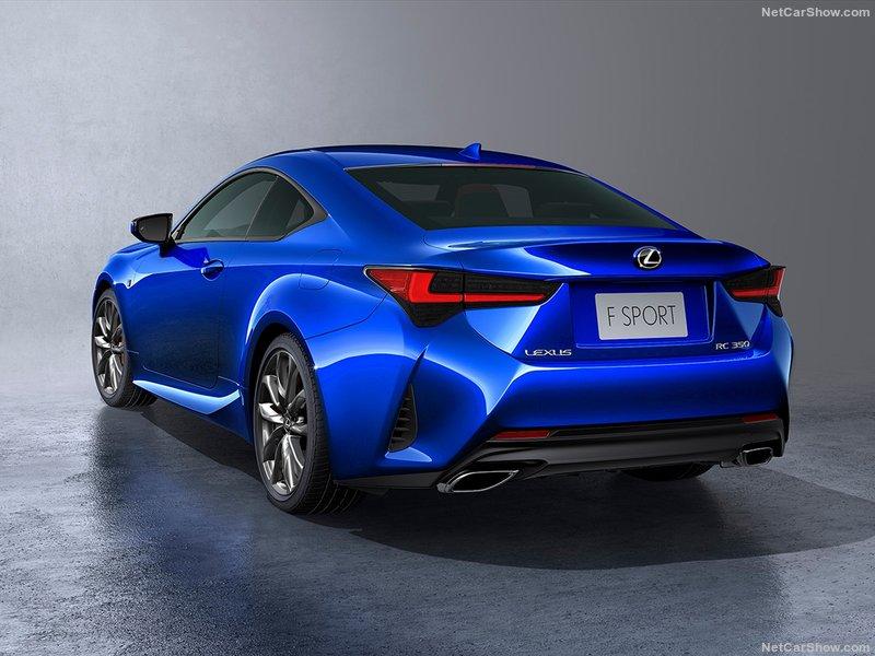 Lexus RC Facelift (2018) 15