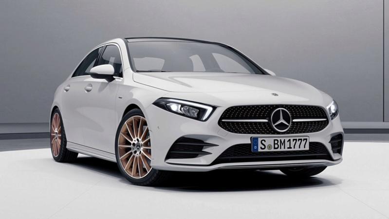 2018 - [Mercedes-Benz] Classe A Sedan - Page 6 04127010