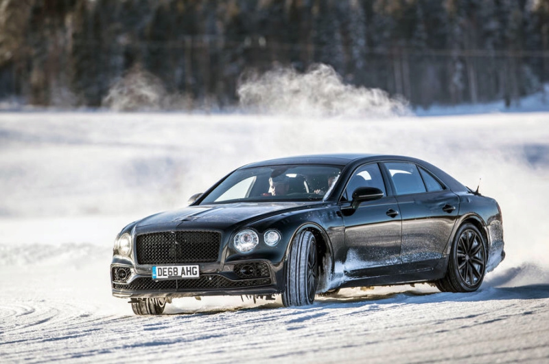 2018 Bentley Continental Flying Spur 8