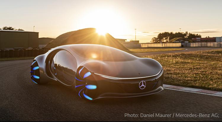2020 - [Mercedes] Vision Avtr concept 06fd0710