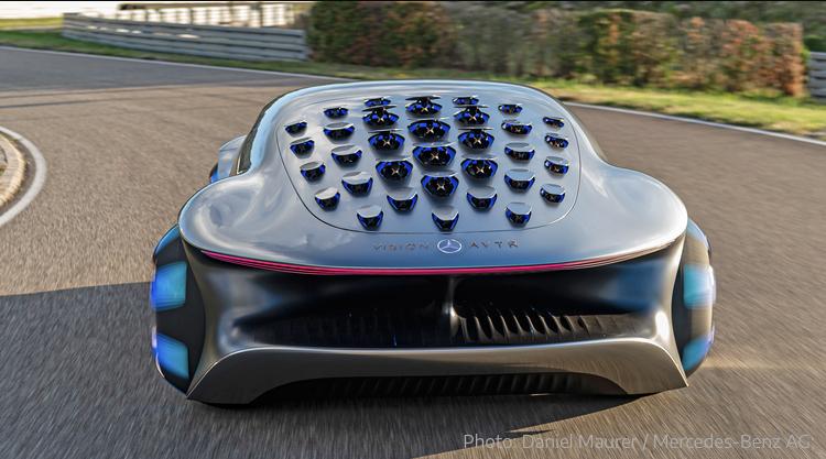 2020 - [Mercedes] Vision Avtr concept 072be310