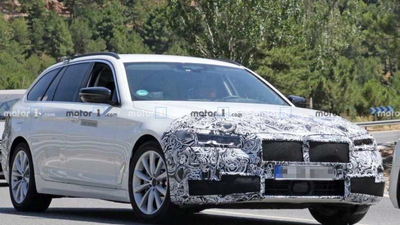 2020 - [BMW] Série 5 restylée [G30] 08375610