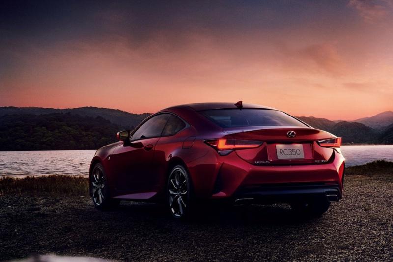 Lexus RC Facelift (2018) 8