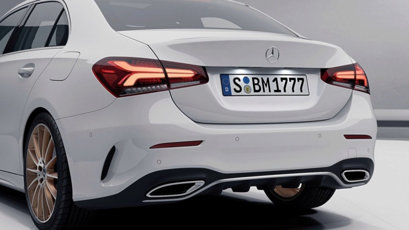 2018 - [Mercedes-Benz] Classe A Sedan - Page 6 127be510