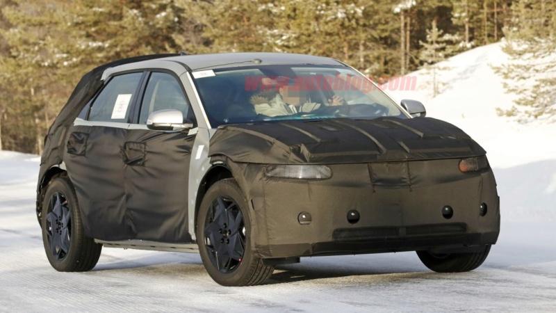 2021 - [Hyundai] SUV EV 12caa110