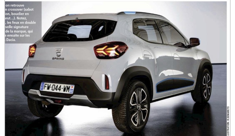 2021 - [Dacia] Urban City Car EV 2c1c5f10