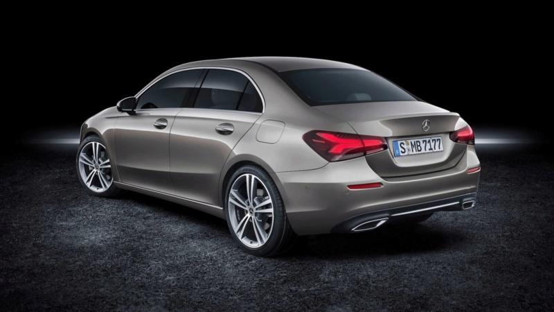 2018 - [Mercedes-Benz] Classe A Sedan - Page 5 2c446410