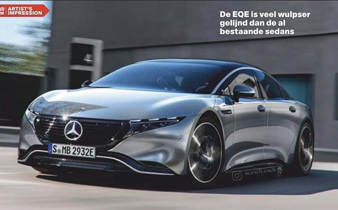 2021 - [Mercedes-Benz] EQE 2d10e510