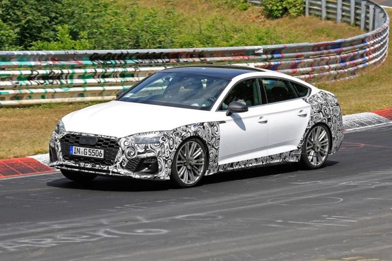 2020 - [Audi] A5 Coupé/Cab/SB restylée 3507b910